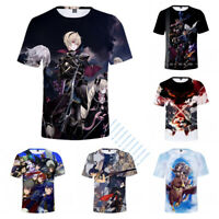 Fire Emblem 3D Print Anime T-Shirt Unisex Casual Short Sleeve Tee Tops Shirts