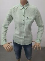 Camicia ABERCROMBIE&FITCH Donna Shirt Woman Chemise Femme Taglia S Cotone 8648