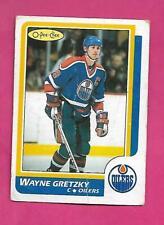 1986-87 OPC # 3 OILERS WAYNE GRETZKY CREASED CARD (INV# D1027)