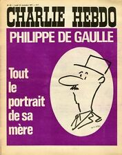 """CHARLIE HEBDO N°53 du 22/11/1971"" WOLINSKI : PHILIPPE DE GAULLE"