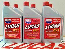 LUCAS CVT FLUID SYNTHETIC MULTI-VEHICLE TRANSMISSION FLUID #10111 (6) QUARTS USA