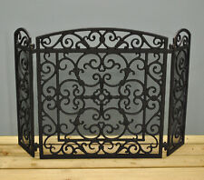 black iron fireplace screen. Black Cast Iron Fireplace Screen By Fallen Fruits Screens  EBay