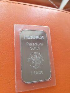 Heraeus Palladium 1oz