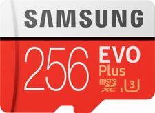 SAMSUNG EVO Plus 256GB micro SDXC 100MB/s 4K Class 10