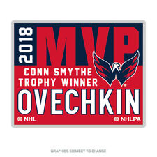 2018 Stanley Cup MVP Conn Smythe Alex Ovechkin Lapel Pin Washington Capitals