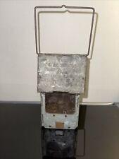 Antique Early 1900's Stonebridge Automatic Folding Collapsible Lantern Mica Lens