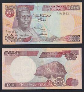 Nigeria 100 naira 2004 FDS/UNC  C-05