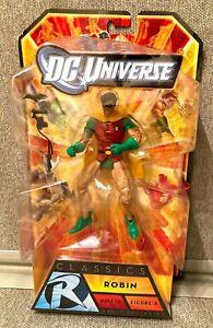 DC Universe Classics ROBIN Dick Grayson Wave 16 (2010, Mattel) ** Damaged Box