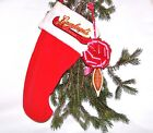 BRAND NEW LEINENKUGEL CHRISTMAS STOCKING w/AMBER TAP HANDLE 25 COASTERS OPENER!