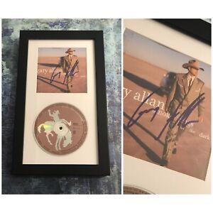 GFA Smoke Rings in the Dark GARY ALLAN Signed CD Booklet Framed COA