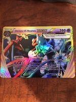 Pokemon Mega Dark Proxy Mega M Deoxys / Mewtwo GX Ex Shadow Full Art Foil
