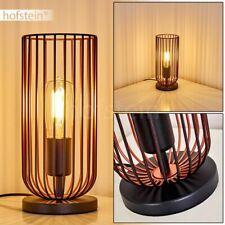Lese Nacht Tisch Lampen Leuchte Vintage Wohn Schlaf Zimmer Beleuchtung schwarz