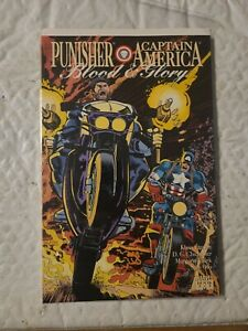 Blood and Glory [Punisher / Captain America] #2 (Nov 1992, Marvel)