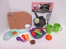 Little Tikes Pretend Play Gourmet Kitchen Replacement Cutting Board Dishes Food