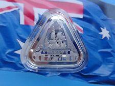 2019 Australian Shipwrecks Batavia Triangular coin .999 fine silver