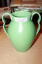 1933 Stangl Pottery Kunsman Hand Thrown Vase Bambergers Dept Store Fulper
