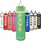 HAWK Punching Bag for Boxing Gloves MMA Training Heavy Target Bag 4FT UNFILLED