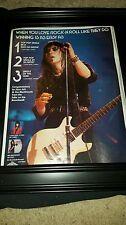Joan Jett And The Blackhearts I Love Rock N Roll Rare Original Promo Poster Ad!