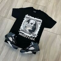 Tee to match Air Jordan Retro 5 Anthracite. Money Call Tee