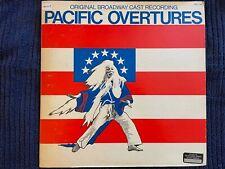Pacific Overtures cast album (LP 1976) Mako, Soon-Teck Oh, Sondheim, ARL1-1367