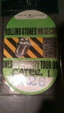 The Rolling Stones Backstage Pass 3/26/1999 While Supplies Last!