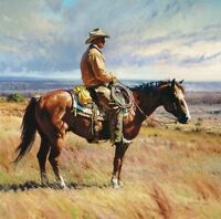 """An American Icon"" Martin Grelle Grande Edition Fine Art Giclee Canvas"