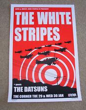 THE WHITE STRIPES concert gig poster MELBOURNE 2002 jack third man records