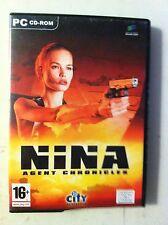 cd per pc - gioco nina agent chronicicles ed. master