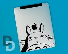 Totoro iPad decal / Notepad sticker / Tablet decal stencil