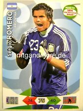 Adrenalyn XL - Sergio Romero - Argentinien - Road to 2014 FIFA World Cup Brazil