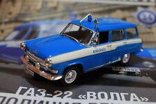 1:43 GAZ-22 Volga Police Hungary Police cars of the world + Magazine #34
