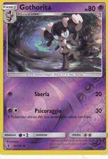 CARTA POKEMON - GOTHORITA - 53/145 - PS 80 - SEMIRARA - FOIL