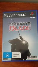 Shoguns Blade (Sony Playstation 2, PS2) Ninja Samurai Complete