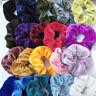 Women Girl Hair Scrunchies Velvet Elastic Hair Bands Scrunchy Hair Ties 20 Pack