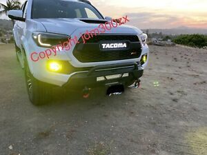 Baja Designs Style Spot/flood Combo Fog Lights For Toyota Tacoma/tundra/4runner
