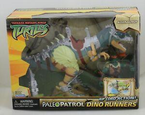 Teenage mutant ninja turtles TMNT Paleo Patrol Dino Runners Allosaurus