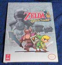 Sealed 2009 Nintendo The Legend of Zelda Spirit Tracks DS Game Guide Premiere Ed