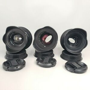 Lenses HELIOS 44, Jupiter 37A, CINE mod lens ANAMORPHIC Cinema Canon EF mount