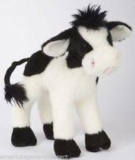 "SWEET CREAM COW Douglas 8"" stuffed plush animal farm black white"