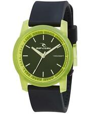 New Rip Curl CAMBRIDGE SILICONE WATCH Waterproof Surf Watch - A2698 Crystal Lime