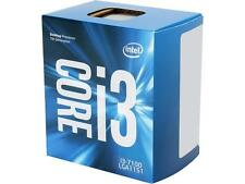 Intel Core i3 7100 Desktop Processor 7th Gen Kaby Lake LGA1151 3.9 GHz, 3M