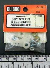 DuBro no:167 - 90 degree bellcrank assemblies (pkt.2)