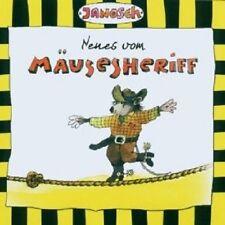 JANOSCH - NEUES VOM MÄUSESHERIFF  CD KINDER HÖRSPIEL HÖRBUCH LESUNG  NEU