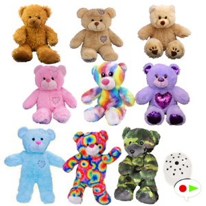 """Baby Heartbeat Teddy Bear with Gift Box - Record your baby's heartbeat-  20cm/8"""""""