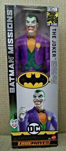 DC Comics Batman Missions True-Moves Clown Prince The Joker Figure *NEW*
