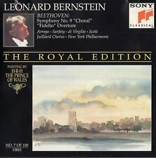 "LEONARD BERNSTEIN NY PHILHARMONIC ""THE ROYAL EDITION: CORAL FIDELIO"" SPANISH CD"