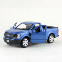 1:36 Scale Ford F-150 Pick-up Truck Model Car Diecast Toy Vehicle Pull Back Blue