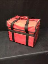 "15"" x 10"" x 12"" Thermal Deli Bag W/2 Side Pockets Case of 5 (L-De-2P-N)"