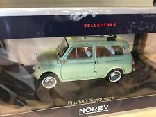Fiat 500 Giardiniera 1962 - Light Green - NOREV - 1:18