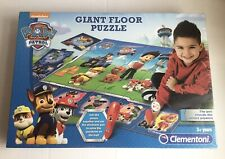 NEW & SEALED Clementoni Paw Patrol Giant Floor Jigsaw Puzzle Interactive Mat
